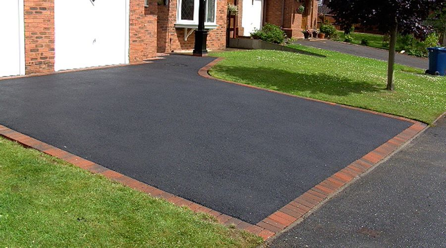 recent project for tarmac driveways in County Durham